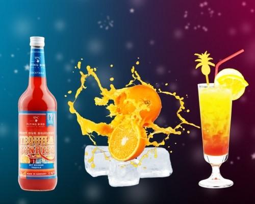 Cocktails selber machen - einfach mit Saft und Eis mixen - fertig