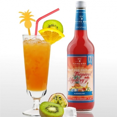 Tropical Mystery - einfache Kindercocktails mixen - ohne Alkohol