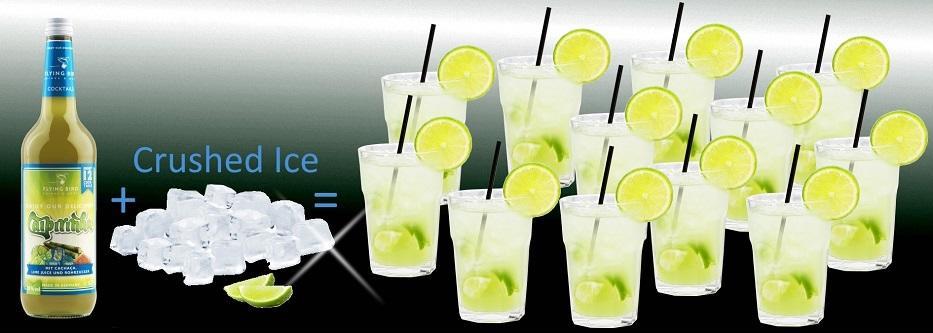 12 fertige Cocktails Caipirinha je Flasche - jetzt online kaufen