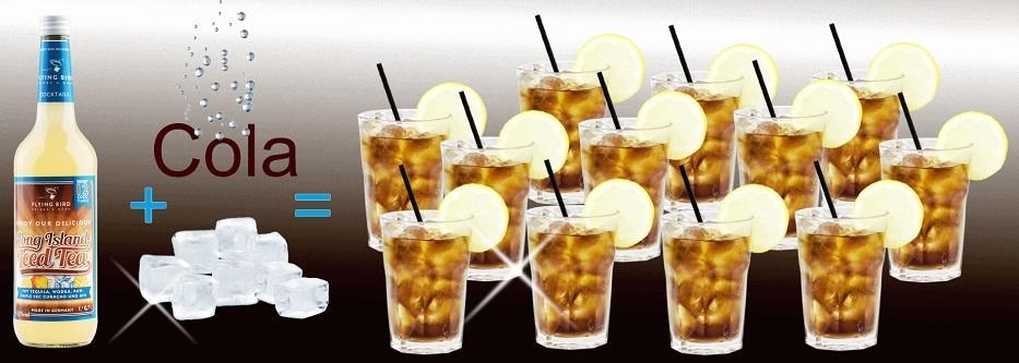 Long Island Iced Tea 0,7l Flasche für 12 fertige Cocktails online kaufen