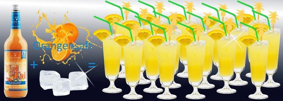 17 fertige Cocktails Mai Tai je Flasche - jetzt online kaufen