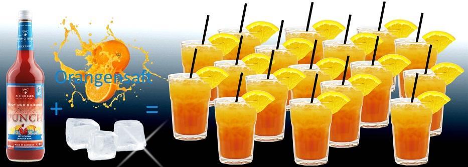 17 fertige Cocktails Planters Punch je Flasche - jetzt online kaufen