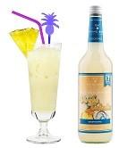 Virgin Colada Cocktail Premix alkoholfrei - 0,7l für 17 Mixgetränke